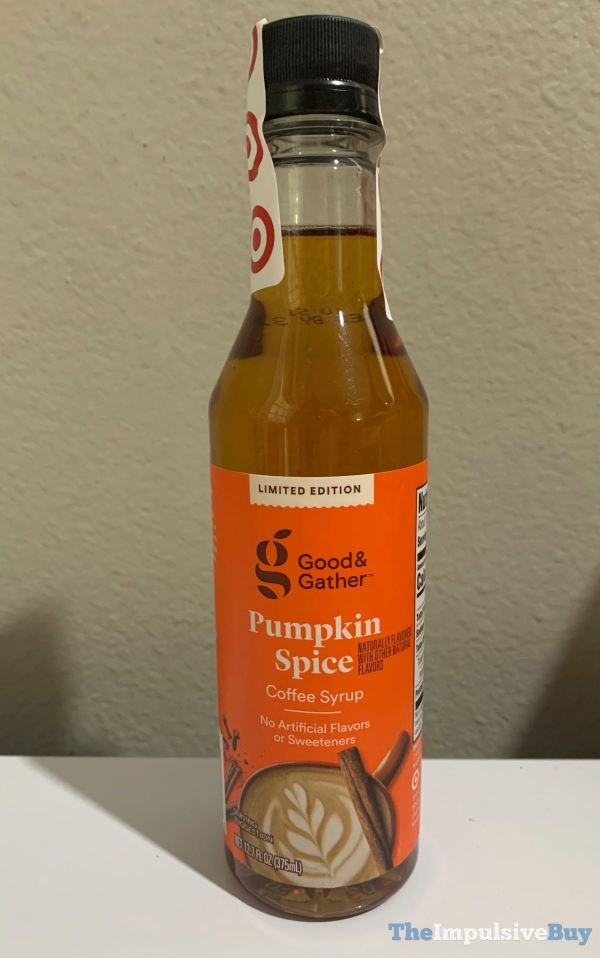 Good  Gather Limited Edition Pumpkin Spice Coffee Syrup