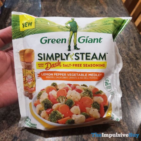 Green Giant Simply Steam Lemon Pepper Vegetable Medley