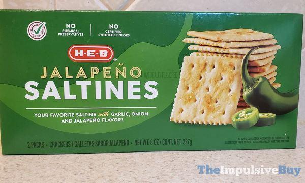 H E B Jalapeno Saltines