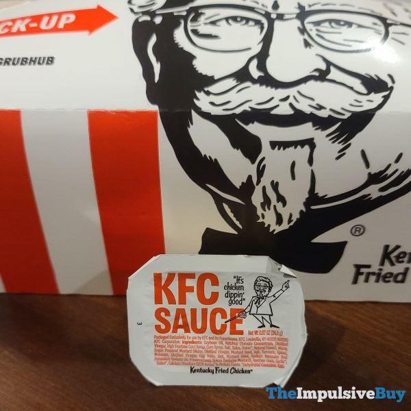 KFC Sauce Container