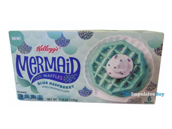 Kellogg s Mermaid Waffles Box