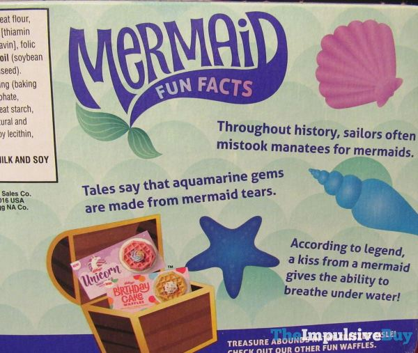 Kellogg s Mermaid Waffles Fun Fact