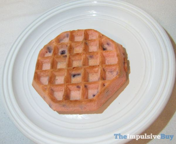 Kellogg s Unicorn Waffles Closeup