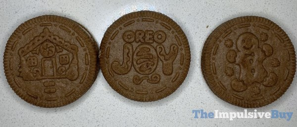 Limited Edition Gingerbread Oreo Cookies 2020 Designs