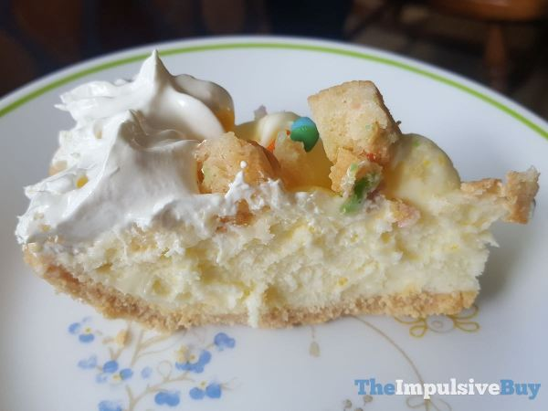Marie Callender s Confetti Birthday Cake Cream Pie Slice