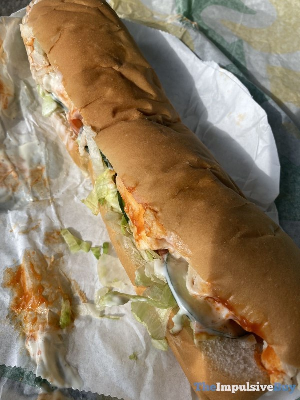 Subway Frank s Red Hot Buffalo Chicken