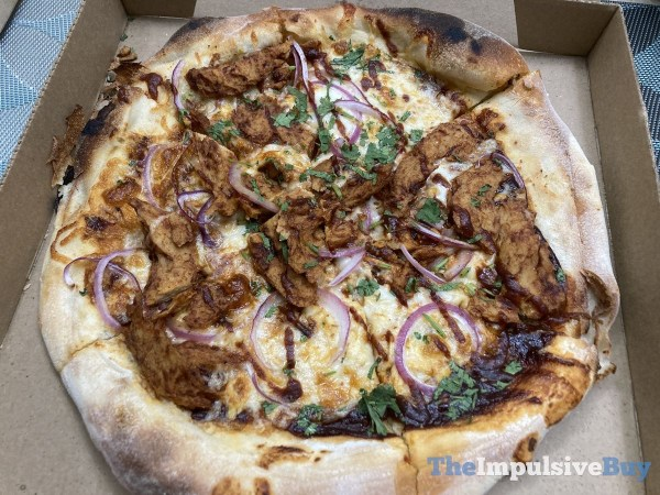 California Pizza Kitchen BBQ  Don t Call Me Chicken Pizza Full