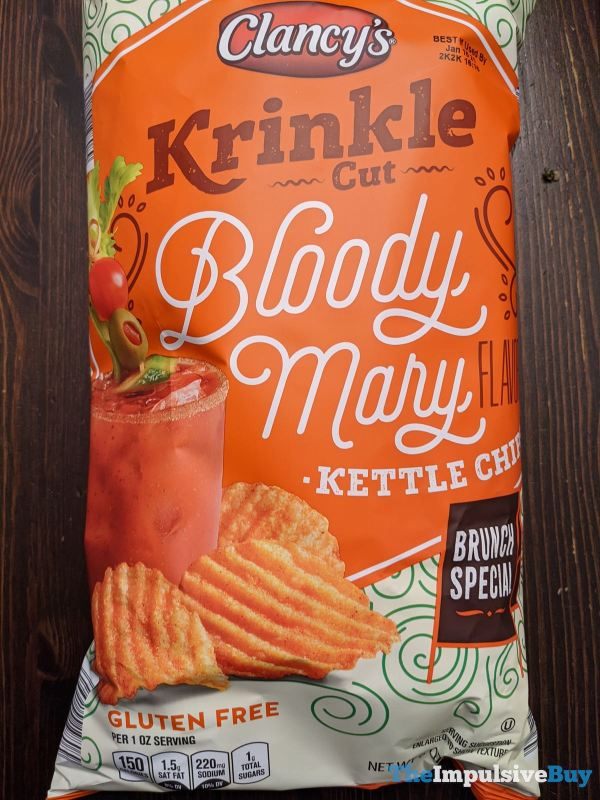 Clancy s Krinkle Cut Bloody Mary Kettle Chips