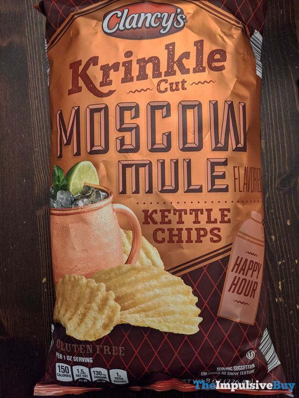 Clancy s Krinkle Cut Moscow Mule Kettle Chips