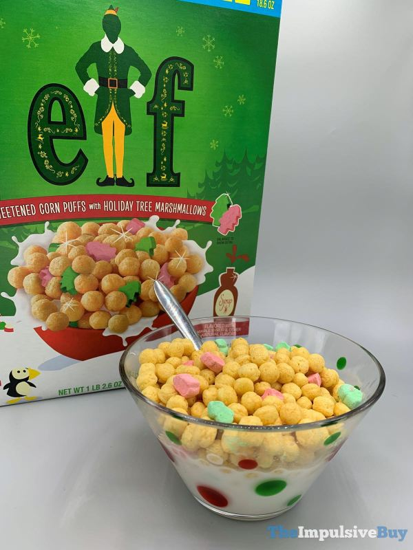 General Mills Elf Cereal Bowled