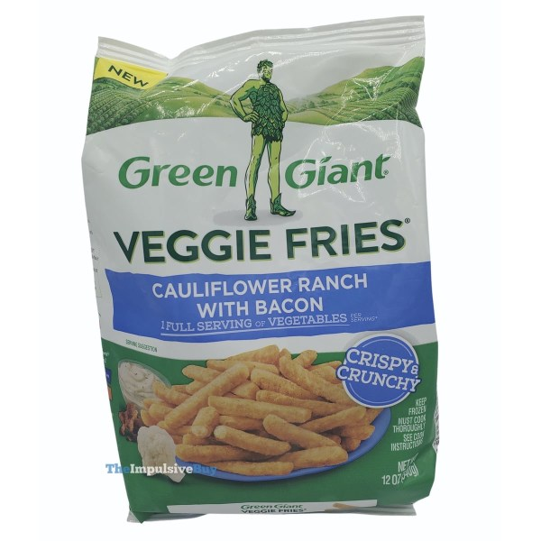 Green Giant Veggie Fries Cauliflower Ranch with Bacon Bag