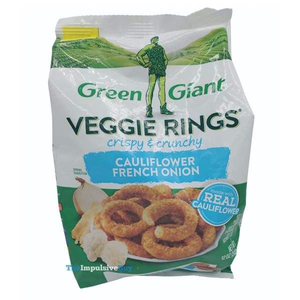 Green Giant Veggie Rings Cauliflower Frnech Onion Bag
