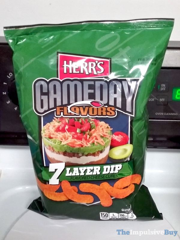 Herr s Gameday Flavors 7 Layer Dip Cheese Curls