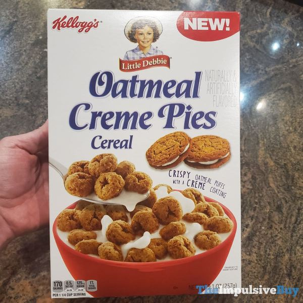 Kellogg s Little Debbie Oatmeal Pies Cereal