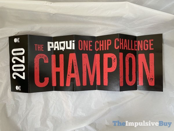 Paqui One Chip Challenge 2020 Banner