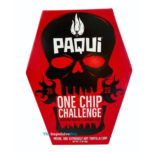 Paqui One Chip Challenge 2020 Box