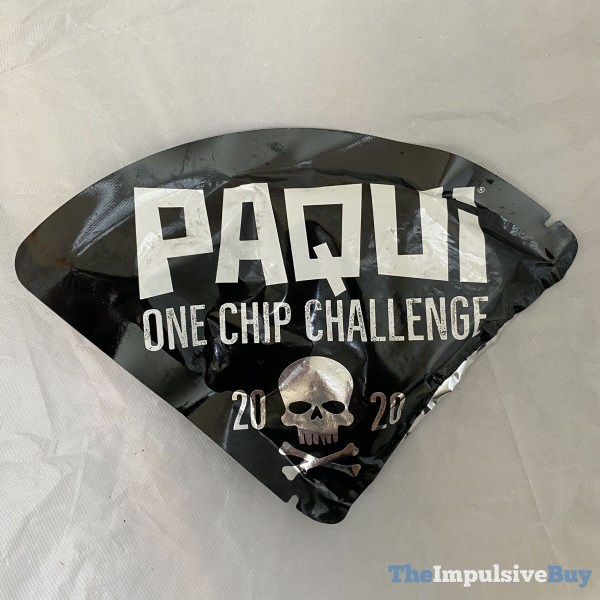 Paqui One Chip Challenge 2020 Wrapper