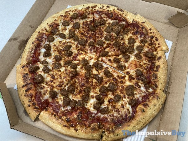 Pizza Hut Beyond Italian Sausage Pizza Whole
