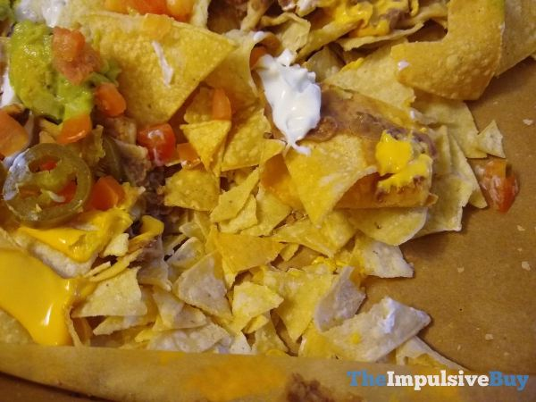 Taco Bell Veggie Nachos Party Pack Too Many Chips on the Dance Floor