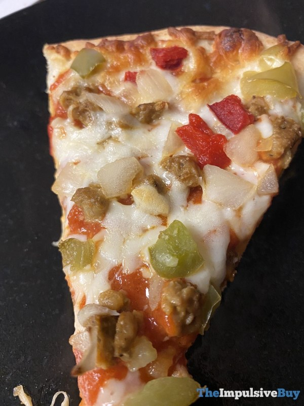 DiGiorno Meatless Monday Meatless Sausage Supreme Pizza Slice