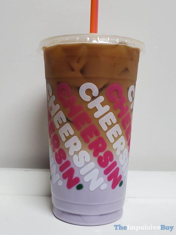 Dunkin Sugarplum Macchiato Cup