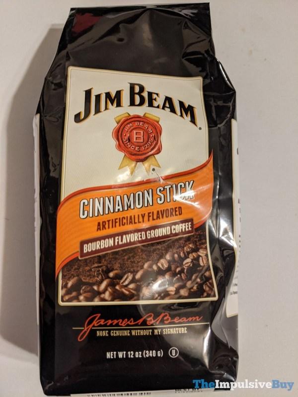 Jim Bean Cinnamon Stick Bourbon Flavored Ground Coffee