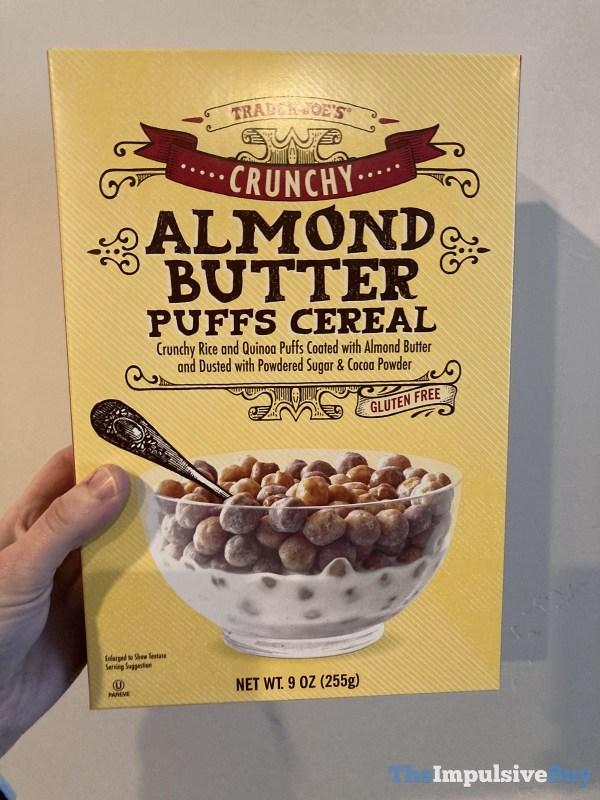 Trader Joe s Crunchy Almond Butter Puffs Cereal