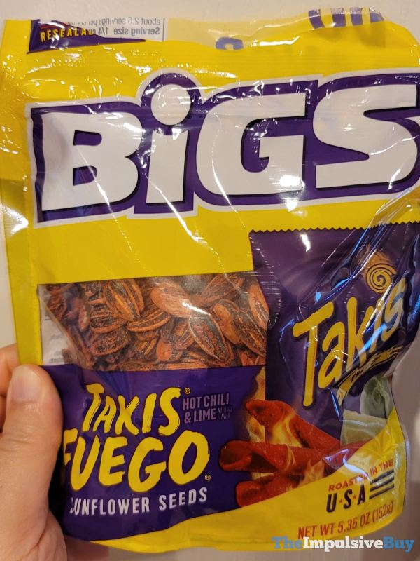 Bigs Takis Fuego Bigs Takis Fuego Sunflower SeedsSunflower Seeds