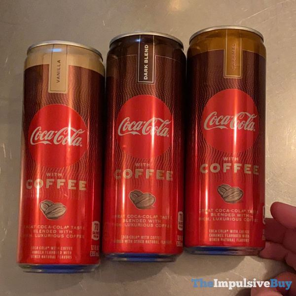 Coca Cola with Coffee Single Cans