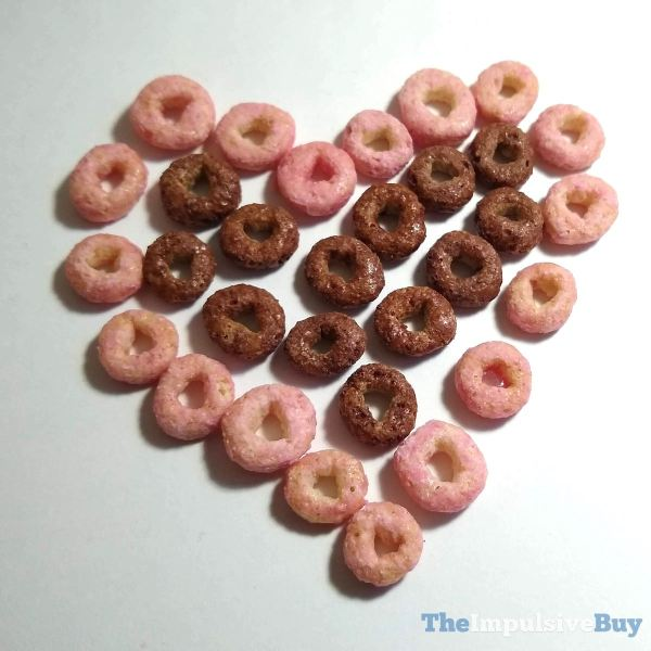Limited Edition Chocolate Strawberry Cheerios Cereal Heart