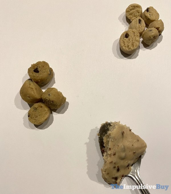 Pillsbury Snackable Cookie Dough Bites Pouches Comparison