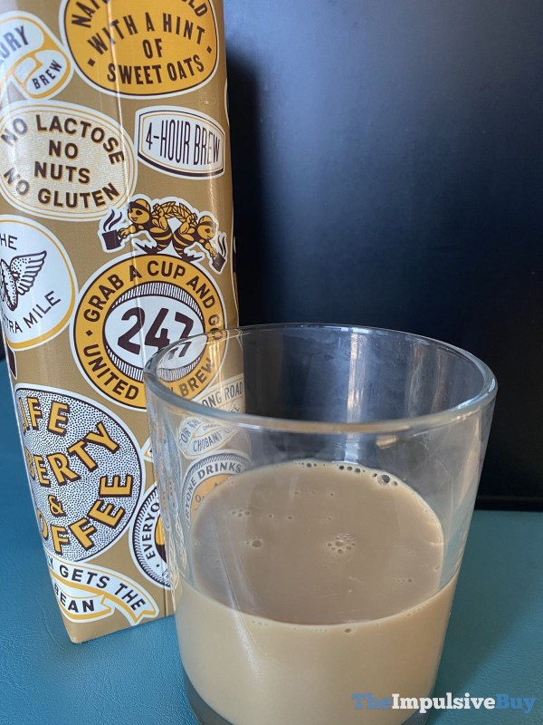 Chobani Cold Brew Coffee Oat Milk