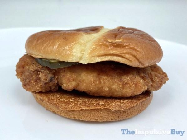 McDonald s Crispy Chicken Sandwich 2021 Full