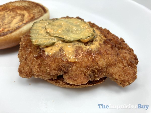 McDonald s Crispy Chicken Sandwich 2021 Spicy Top