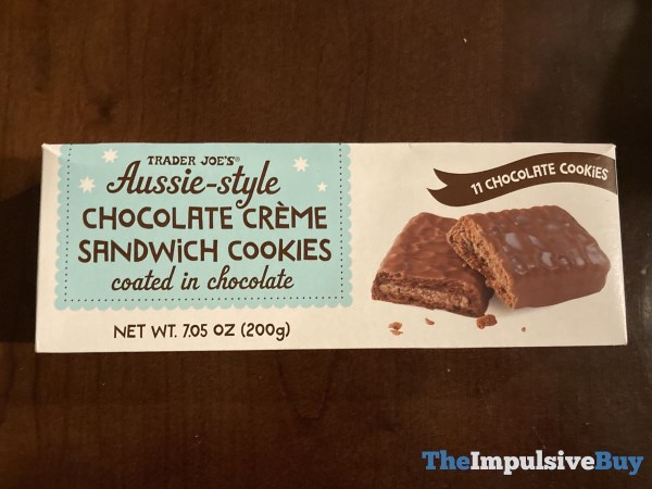 Trader Joe s Aussie Style Chocolate Creme Sandwich Cookies