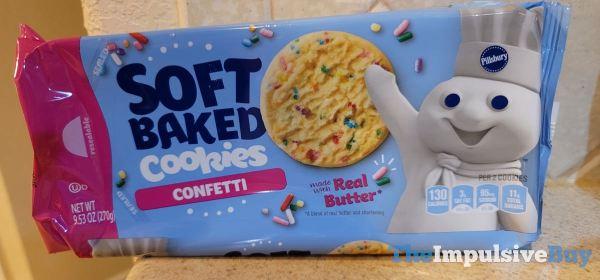 Pillsbury Confetti Soft Baked Cookies