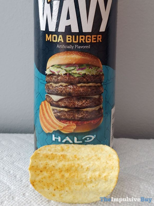 Pringles Wavy Halo Moa Burger Too Many Patties