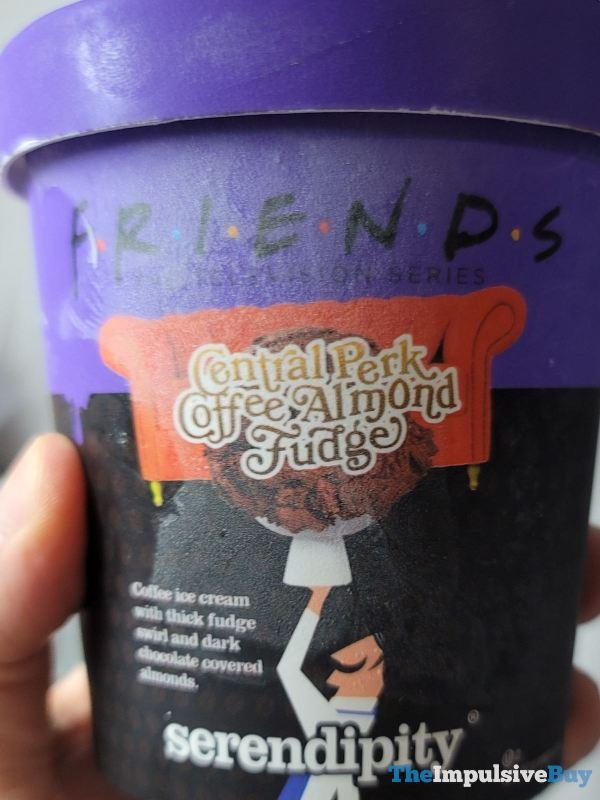 Serendipity Friends Central Perk Coffee Almond Fudge Ice Cream