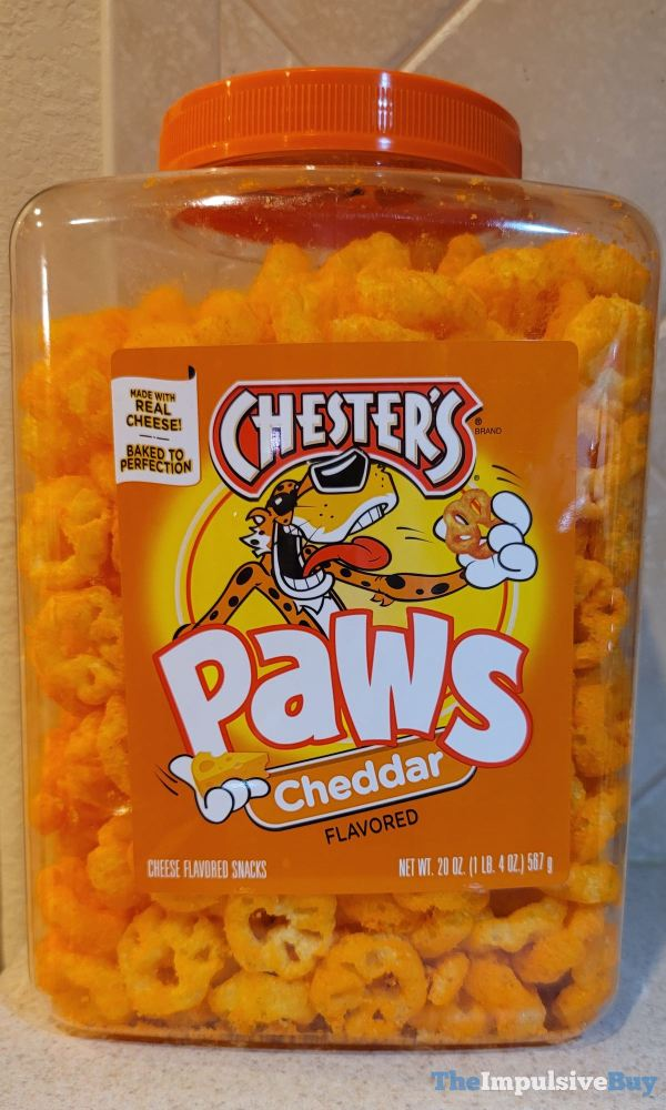 Chester s Cheddar Paws
