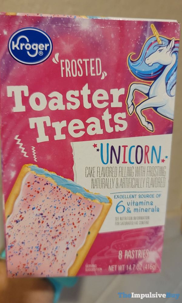 Kroger Unicorn Frosted Toaster Treats