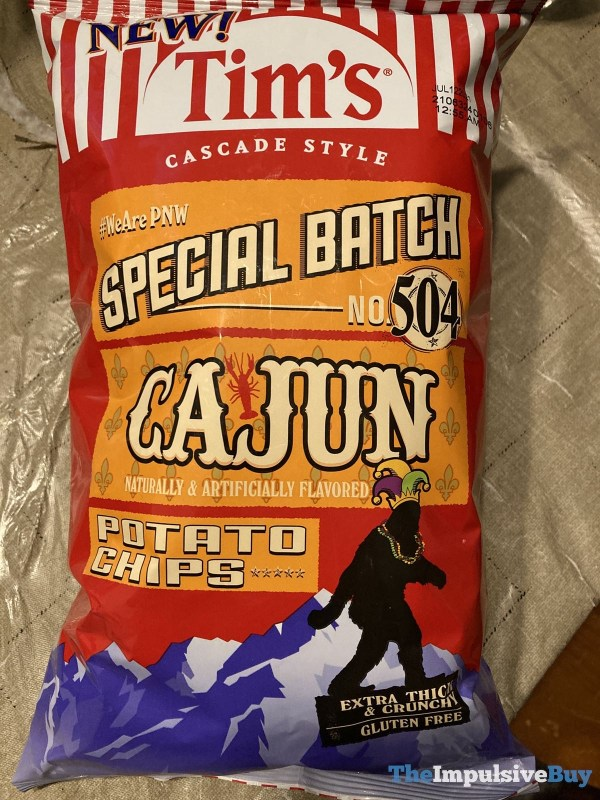 Tim s Special Batch No 504 Cajun Potato Chips