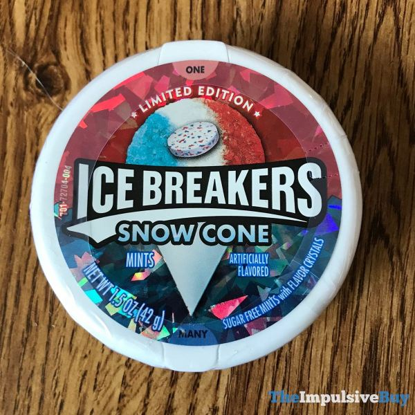 Ice Breakers Limited Edition Snow Cone