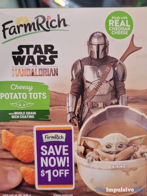 Farm Rich Star Wars The Mandalorian Cheesy Potato Tots