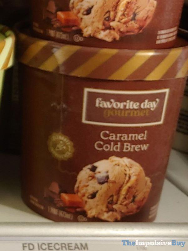 Favorite Day Gourmet Caramel Cold Brew Ice Cream