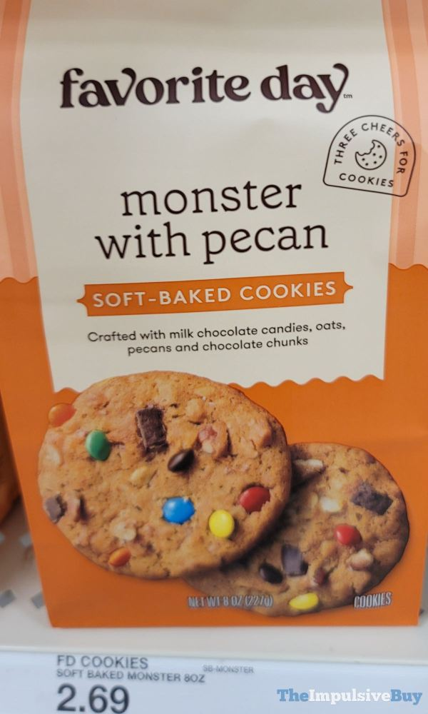 Favorite Day Monster with Pecan Soft Baked Cookies