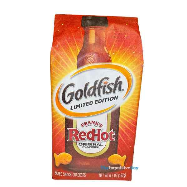 Limited Edition Frank s RedHot Goldfish Crackers Bag