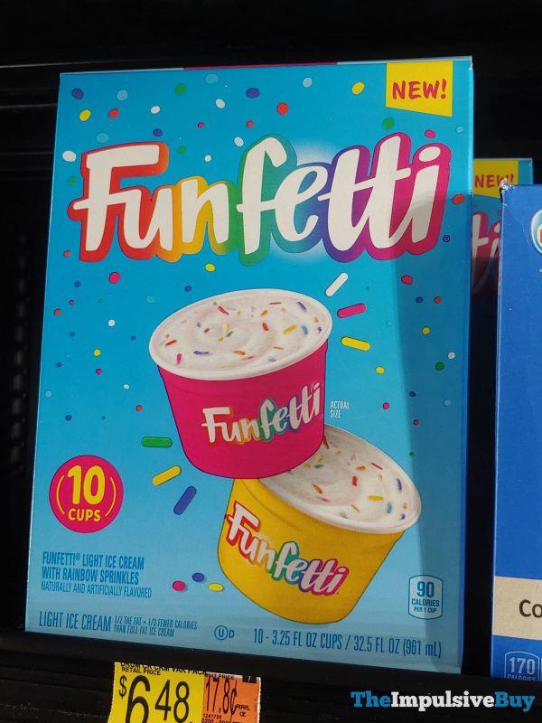 Funfetti Light Ice Cream Cups