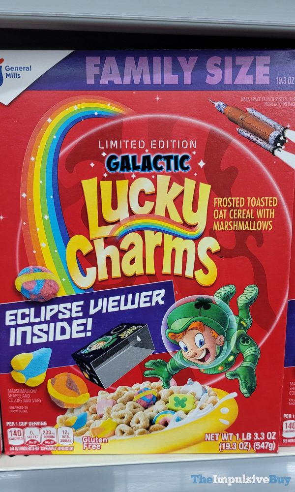 Limited Edition Galactic Lucky Charms Cereal