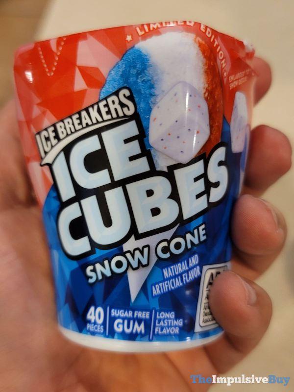 Ice Breakers Ice Cubes Snow Cone