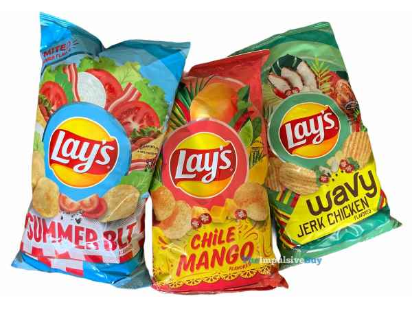 Lay s Summer 2021 Flavors